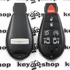 Корпус смарт ключа для Chrysler (Крайслер) 6 + 1 кнопки