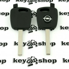 Корпус автоключа под чип Opel (Опель) лезвие HU100