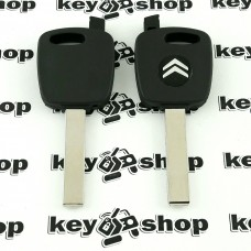 Корпус ключа под чип для CITROEN (Ситроен) лезвие HU83T