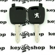 Корпус автоключа под чип Peugeot (Пежо) лезвие NE73