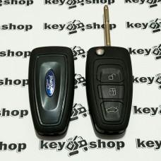 Корпус выкидного автоключа для Ford (Форд) 3 - кнопки. лезвие FO21