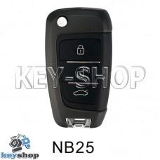 Ключ заготовка (NB25) для программатора KD900, KD900+, KD mini, KD-X2
