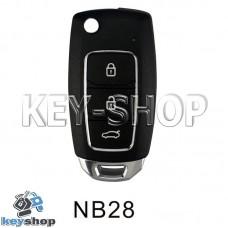 Ключ заготовка (NB28) для программатора KD900, KD900+, KD mini, KD-X2