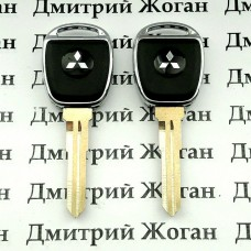 Корпус авто ключа под чип для MITSUBISHI Lancer, ASX (Митсубиси Ланцер) , лезвие MIT11R