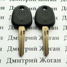 Корпус авто ключа под чип для Hyundai Accent, Coupe, Getz, H1 (Хундай Акцент, Купе, Гетц), лезвие HYN6