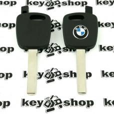 Корпус ключа под чип для BMW (БМВ), лезвие HU92