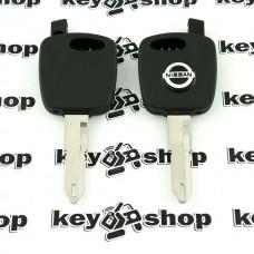 Авто ключ под чип для NISSAN (Ниссан) корпус, лезвие NE73