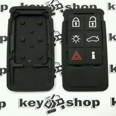 Резиновые кнопки для смарт ключа Volvo (Вольво) 6 кнопок