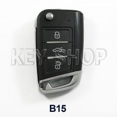 Ключ заготовка (B15) для программатора KEYDIY (KD-X2, KD900, KD900+, KD MINI)