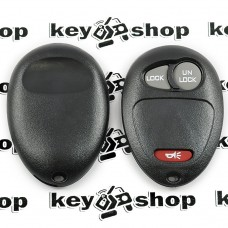 Корпус пульта для Cadillac (Кадиллак), 2 + 1 (panica) кнопки