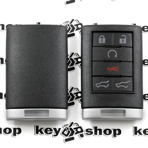 Корпус смарт ключа Cadillac (Кадиллак) 5 кнопок + 1