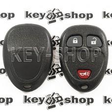 Оригинальный пульт для Кадиллак (Cadillac), 2 + 1 (panica) кнопка, 315MHz, FCCID: OUC60270 (G9)