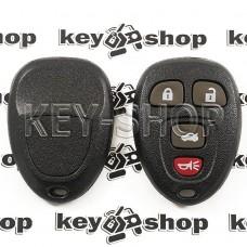 Оригинальный пульт для Кадиллак (Cadillac), 3 + 1 (panica) кнопка, 315MHz, FCCID: OUC60270 (G9)