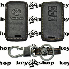 Чехол (кожанный) для смарт ключа LEXUS (Лексус) 3 кнопки