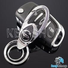 Металлический брелок для авто ключей Чери (Chery)