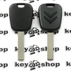 Корпус авто ключа под чип для CITROEN (Ситроен)  лезвие HU83T