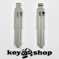 Лезвие для выкидного ключа Hyundai (Хундай) левое с упорами