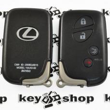 Корпус смарт ключа для LEXUS (Лексус) 3 - кнопки + 1 кнопка