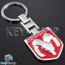 Металлический брелок для авто ключей Dodge (Додж)