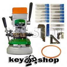 Станок FUGONG 998A (GOSO) для (нарезки) квартирных и автомобильных ключей 2 в 1 английский и вертикальный профиль