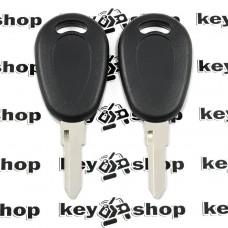 Корпус авто ключа под чип для Fiat (Фиат)