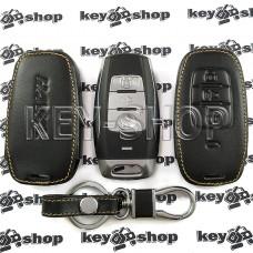 Чехол (кожаный) для смарт ключа HAVAL (Хавейл) 3 кнопки