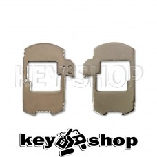 Pамка для автозамка - HU162 №12 (тип 2)