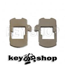 Pамка для автозамка - HU162 №4 (тип 2)