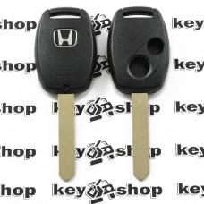 Корпус автоключа Honda (Хонда) - 2 кнопки, лезвие HON66