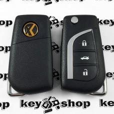 Универсальный автоключ для программатора XHorse, Toyota Style Wireless (XN008) 3 кнопки