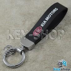 Каучуковый брелок с карабином для авто ключей KIA (КИА)