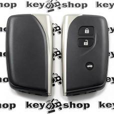 Корпус смарт ключа для Lexus (Лексус) 3 кнопки, с лезвием