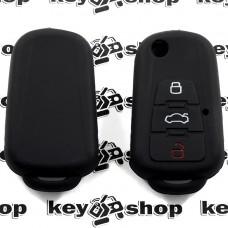 Чехол (cиликоновый) для выкидного ключа MG (ЭмДжи) 2 + 1 кнопки