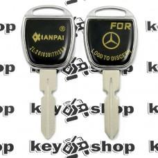 Корпус авто ключа под чип для Mercedes (Мерседес), лезвие HU39