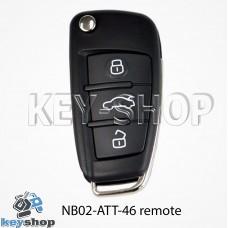 Ключ заготовка (NB02 - ATT - 46 remote) для программатора KD900, KD900+, KD mini