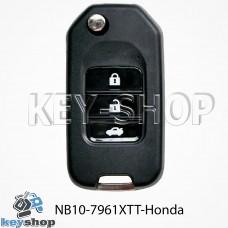 Ключ заготовка (NB10 - 7961 XTT - 2015 - New Honda) для программатора KD900, KD900+, KD mini