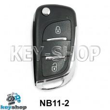 Ключ заготовка (NB11-2 Universal) для программатора KD900, KD900+, KD mini, KD-X2