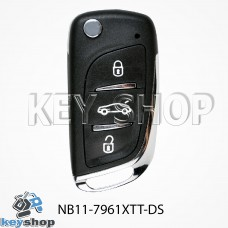 Ключ заготовка (NB11 - 7961 XTT - DS) для программатора KD900, KD900+, KD mini