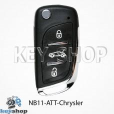 Ключ заготовка (NB11 - ATT - Chrysler) для программатора KD900, KD900+, KD mini