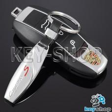 Металлический брелок для авто ключей PORSCHE (Порше)
