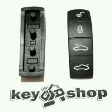 Резиновые кнопки для смарт ключа Porshe (Порше)