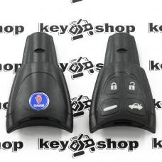 Корпус смарт ключа Saab (Сааб) 4 кнопки