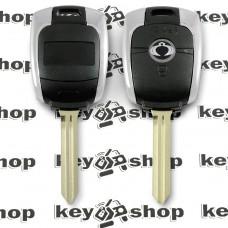 Корпус автоключа SsangYong Actyon, Korando (СангЙонг) 2 кнопки