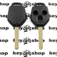 Корпус ключа для Subaru (Субару) 3 - кнопки, лезвие DAT17
