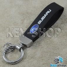 Каучуковый брелок с карабином для авто ключей Субару (Subaru)