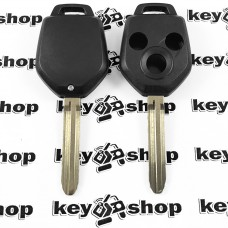 Корпус автоключа для SUBARU (Субару) 3 - кнопки, лезвие TOY 43R