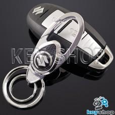 Металлический брелок для авто ключей Сузуки (Suzuki)