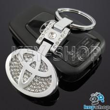 Металлический брелок для авто ключей Toyota (Тойота)