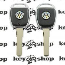 Корпус авто ключа под чип для Volkswagen (Фольксваген) с подсветкой HU66