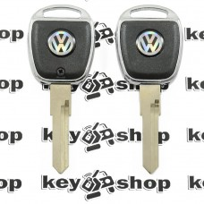 Корпус авто ключа под чип для Volkswagen (Фольксваген) с подсветкой, лезвие НU 49